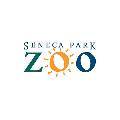 Seneca Park Zoo of Rochester, NY case study including images of graphic design work for posters, invitations, and brochures