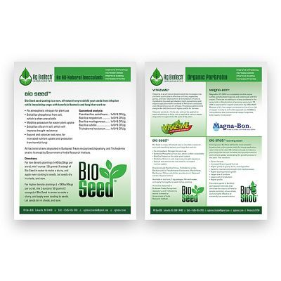 Ag Biotech Sell Sheets
