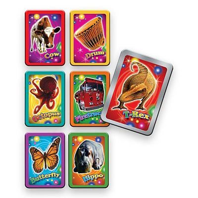 Fisher Price Card Game Graphic Design and Illustration
