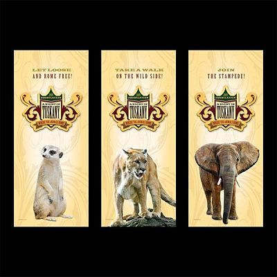 Seneca Park Zoo Rochester, NY Tuskany Event Graphic Design for Banners and Signage
