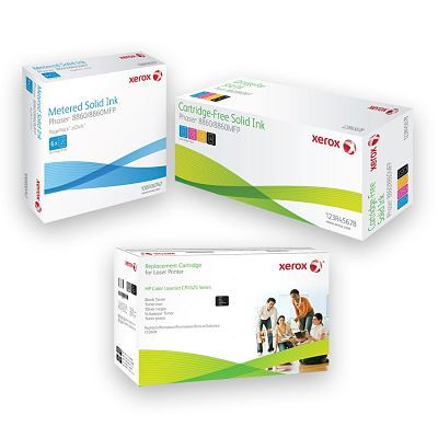 Xerox of Webster, NY Ink Cartridges Packaging Design