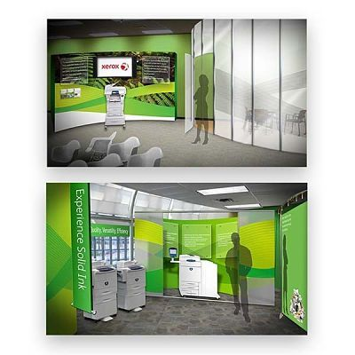 Xerox of Webster, NY Trade Show Display Design