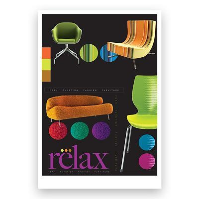 Relax Brochure Design and Branding for Xerox applications