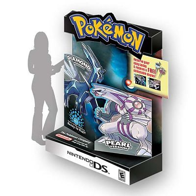 Hasbro Toy Company Pokemon Point-of-Purchase POP Retail Display Design