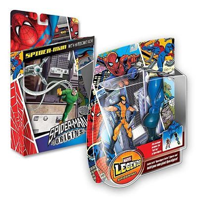 Hasbro Toys Spiderman Package Design