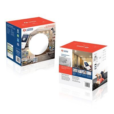 Lithonia Acuity Wireless Speaker and Downlight Package Design