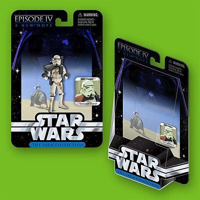 Hasbro Toys and Games Star Wars Package Design